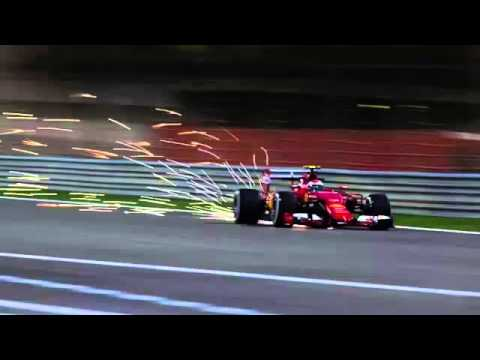 F1 2015 - Kimi Raikkonen Ferrari Team Radio Message after Being 2nd in Bahrain