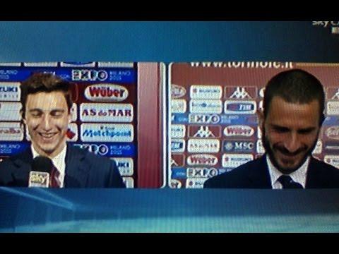 Torino Juventus 2 1 - Bonucci prende per il culo Darmian per il gol