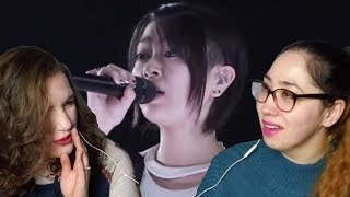 Hikaru Utada Chikai Live Ver English Translation Reaction