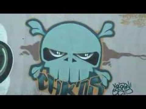 graffitis en Sagunto