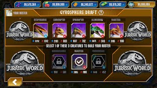 GYROSPHERE VICTORY PACK - CODE 19 ACROCANTHOSAURUS - JURASSIC WORLD THE GAME