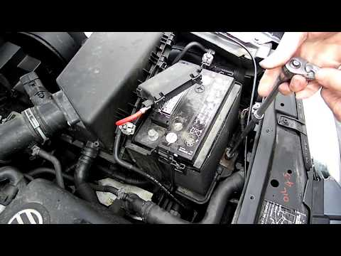 Battery Removal Volkswagen Jetta