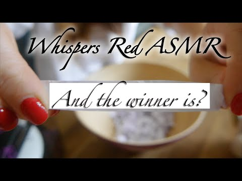 (O_o) And the WINNER is? (o_O) ASMR Giveaway Results - 3D Binaural Sounds