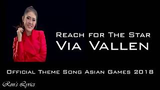 Reach for The Stars   Via Vallen   Official Theme Song Asian Games 2018