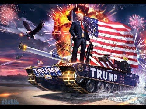 Новости МИРА. Трамп присвоил США победу в двух Мировых войнах и похвалил себя за обстрел Сирии.