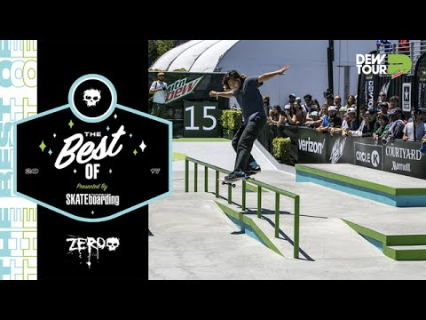 Best of Zero TransWorld SKATEboarding Team Challenge Dew Tour Long Beach 2017