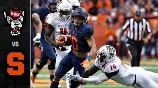 NC State vs Syracuse Football Highlight (2018)
