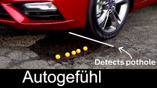 Ford Fusion/Mondeo pothole detection Schlagloch-Erkennung - Autogefühl