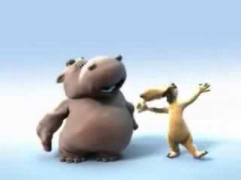 Hippo & Dog - The Lion Sleeps Tonight video