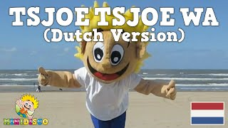 TSJOE TSJOE WA | Dutch Children's Songs | Dance | Video | Beach | Mini Disco