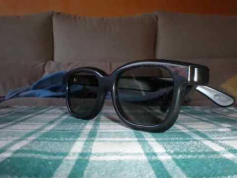 Real 3D, Gafas Girando