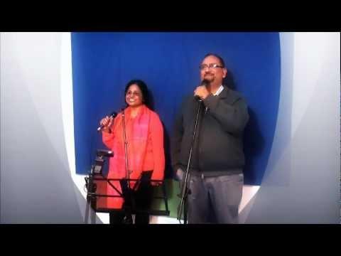 sathiya nahi jana ke ji na lage ..Karaoke by Pradeep and Najma...
