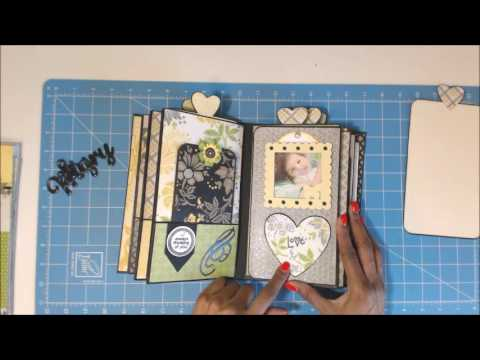 Vertical Paper Bag Mini Album