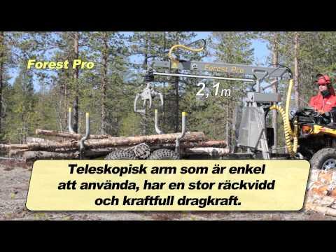 Forest Pro Timmervagn