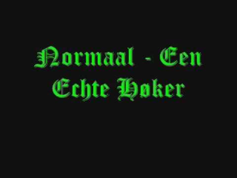 Cover image of song Een echte hoker by Normaal