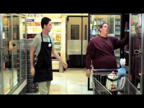 Черный правдивый юмор в рекламе Прикол в супермаркете