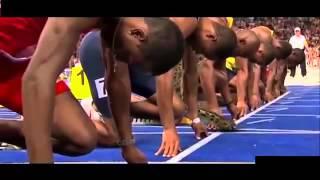 Usain Bolt Vs Cheetah Superimposed