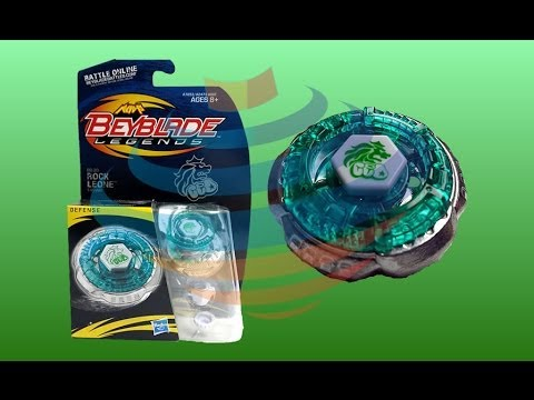 Beyblade Legends BB-30 Rock Leone Review Unboxing Giveaway Expires August 6th 2014