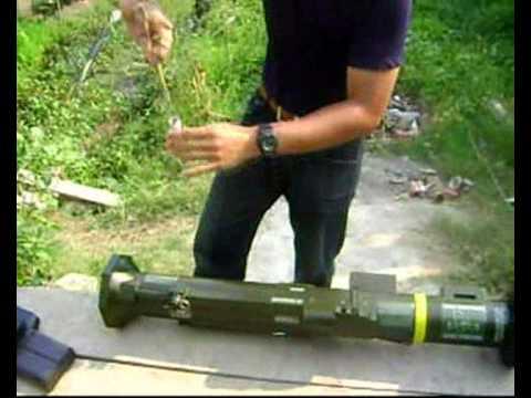 เครื่องยิงจรวดฝีมือคนไทย