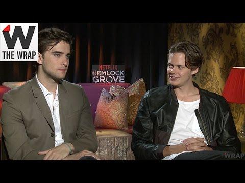 'Hemlock Grove' Stars Landon Liboiron and Bill Skarsgård