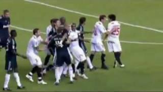 Sevilla y Real Madrid; Guti esta teñida!!