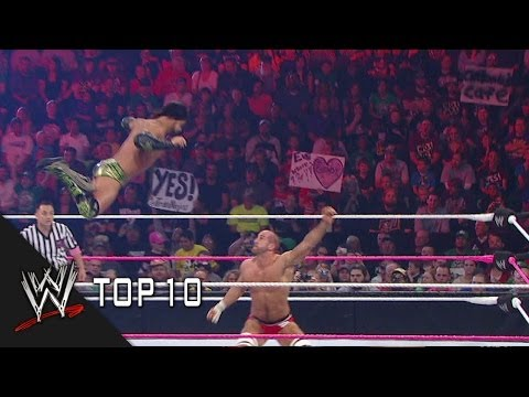 Cesaro Uppercuts - WWE Top 10