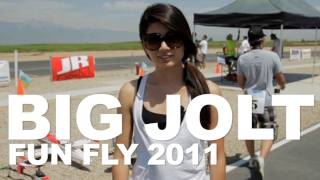Big Jolt Fun Fly 2011 Prado Chino Flying Field with Liz