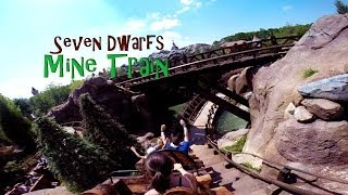 Seven Dwarfs Mine Train GoPro POV Full Ride