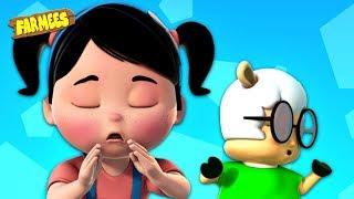 Sneeze Song | Nursery Rhymes For Children | Cartoon Videos |  Kids Songs - Farmees