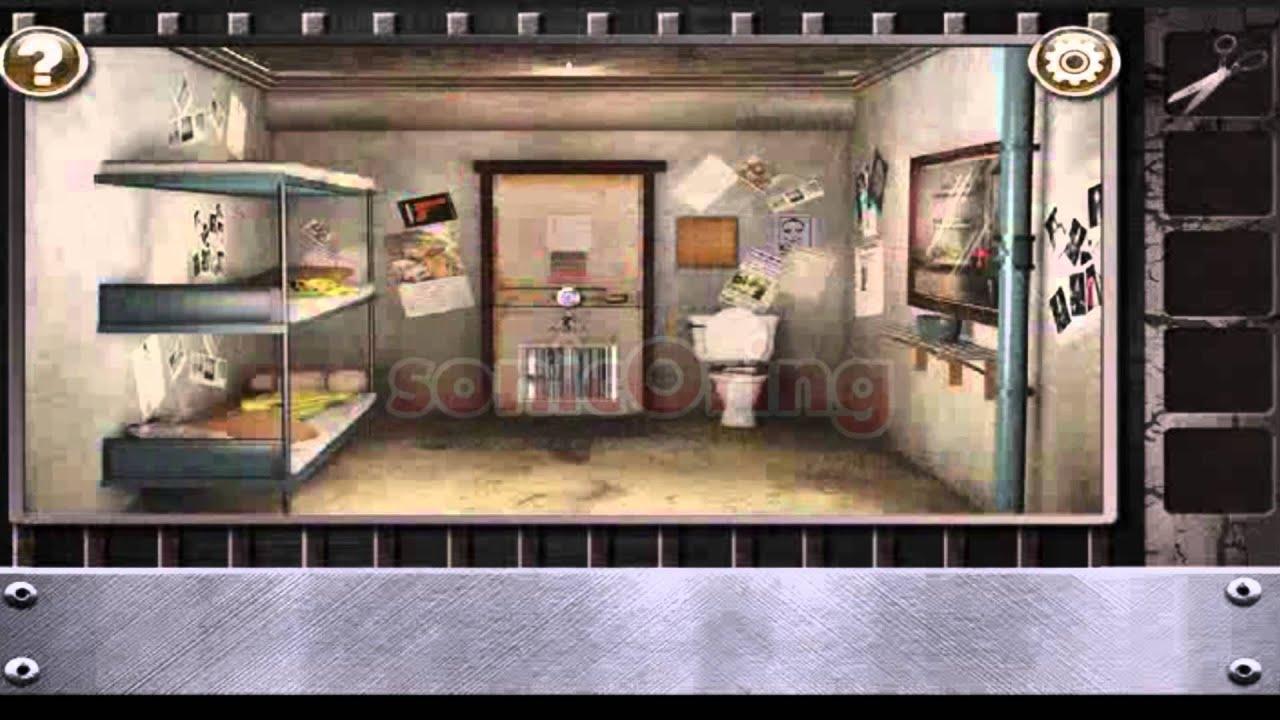 Escape the prison room level 3 walkthrough youtube for Escape room gadgets