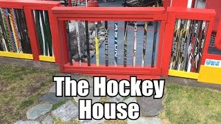 The Ultimate Hockey Fan Cave