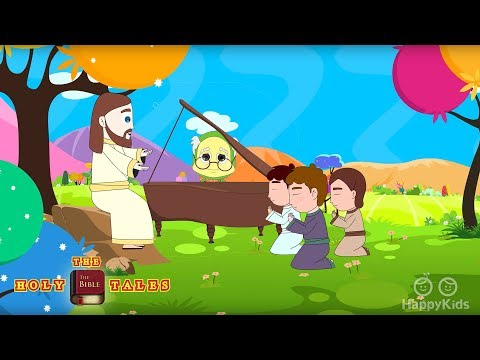 Jesus In The Morning I Bible Rhymes Collection I Bible Songs For Children with Lyrics| Holy Tales
