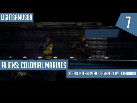 Aliens: Colonial Marines: Stasis Interrupted - Gameplay Walkthrough Part 7 (Finale)