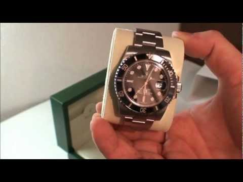 ROLEX Submariner Date 116610LN UNBOXING