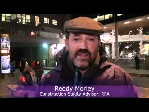 Meet the Luas Managers (December 7th 2011): Reddy Morley, RPA Construction Safety Advisor