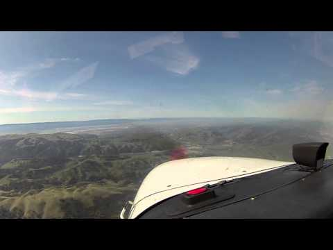 Modesto (KMOD) to Palo Alto (KPAO) with VFR flight following comms