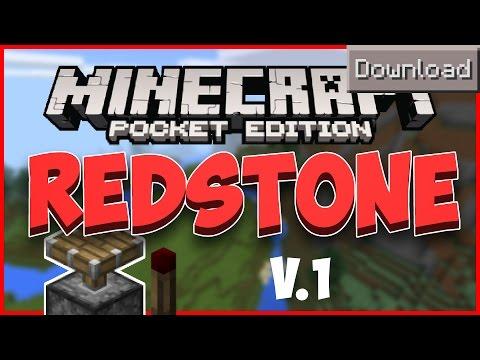 [0.10.5] DOWNLOAD REDSTONE | Minecraft Pocket Edition