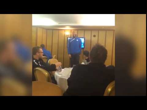 Oguchi Onyewu sings to Sheffield Wednesday teammates   Mail Online