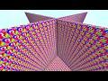 2V2 RAINBOW LUCKY BLOCK WALLS! | Minecraft Mods