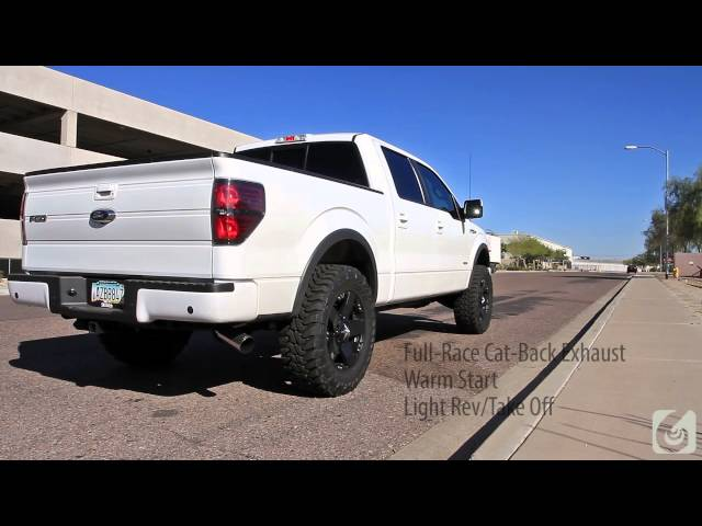 Full-Race 2011+ Ford F-150 EcoBoost 3 Inch Exhaust System