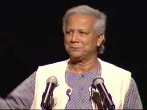 Nobel Prize Winner Muhammad Yunus