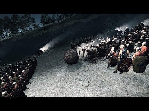 5000 Archers VS 3000 Hastati Ambush Rome 2 Total War
