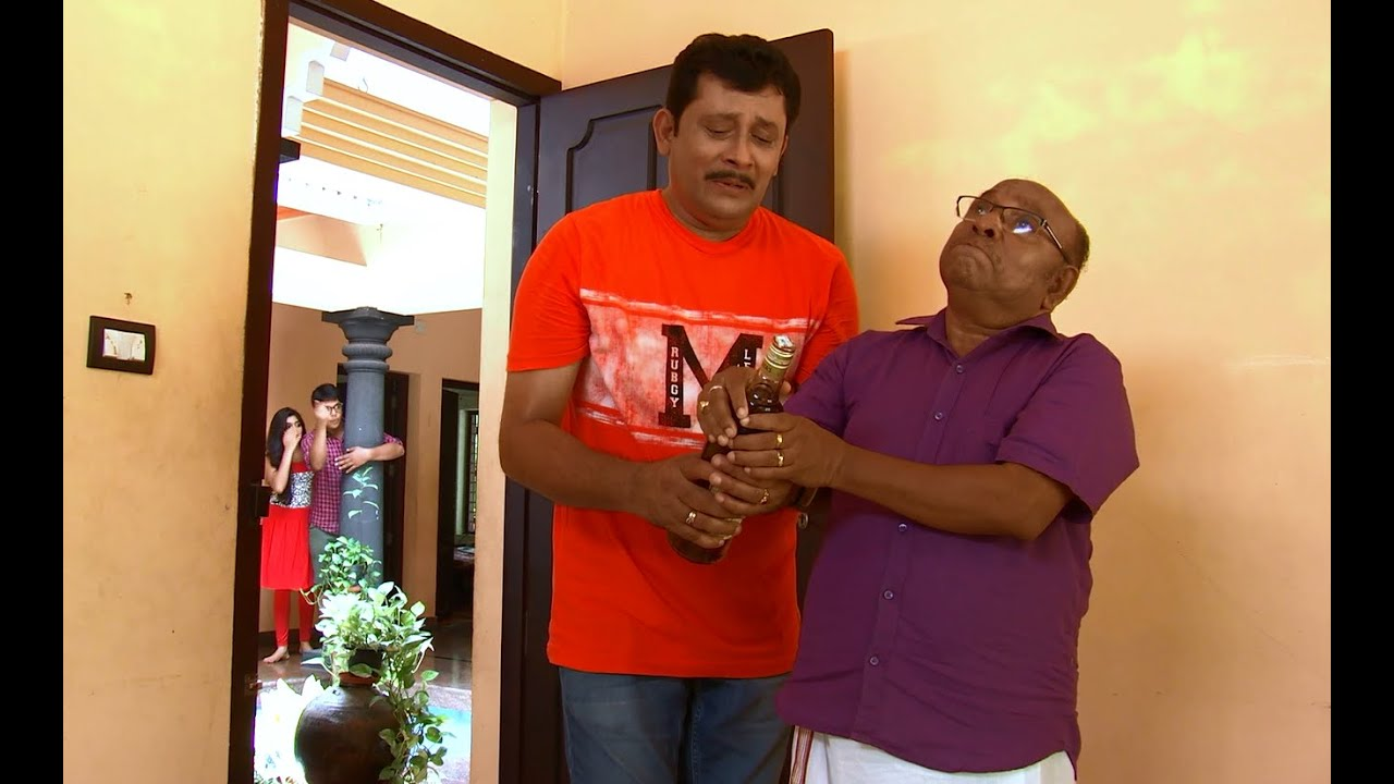 Thatteem Mutteem | Episode 194 - Arjunan's pledge against liqueur - | Mazhavil Manorama