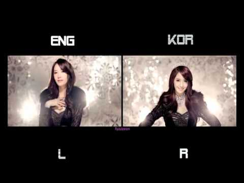 Girls' Generation (snsd) - The Boys (split Screen) (eng kor) video