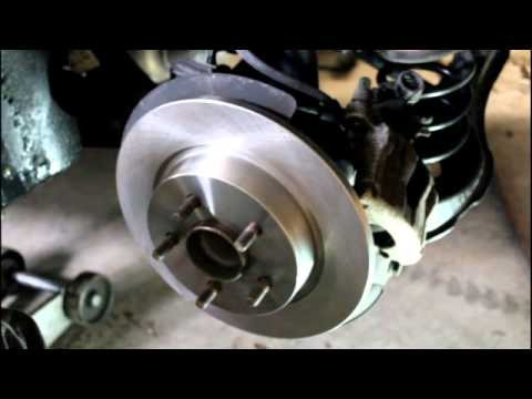 2010 volvo v50 rear brakes youtube