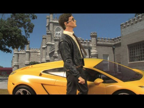 "Harry Potter 007 in ""The Spy Who Lived.""  (Spoof of James Bond and Harry Potter)"