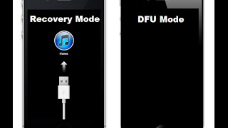 Iphone em DFU e Recovery Mode