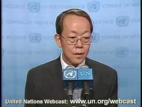 MaximsNewsNetwork: UN Amb. CHINA, WANG GUANGYA on KOSOVO 2007, SECURITY COUNCIL
