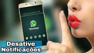 Como Desativar Notificações do Whatsapp da Tela de Bloqueio