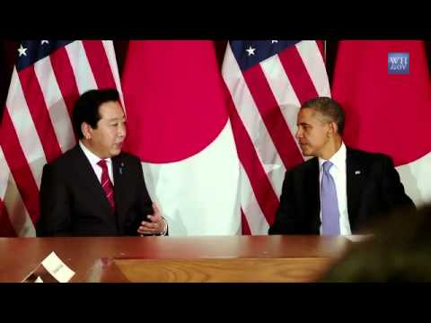 President Obama's Bilateral Meeting with Prime Minister Noda of Japan
